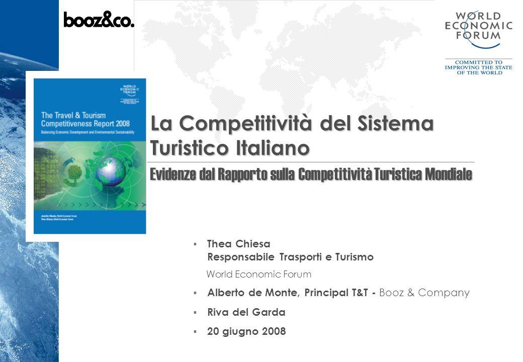 La Competitività del Sistema Turistico Italiano
