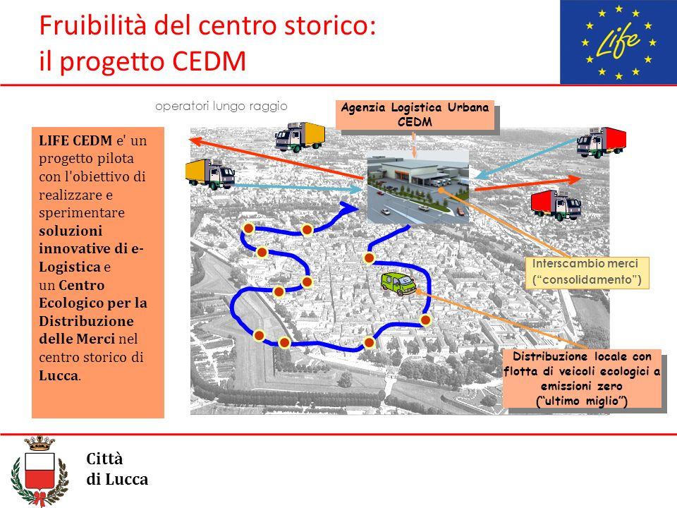 Fruibilità del centro storico: il progetto CEDM