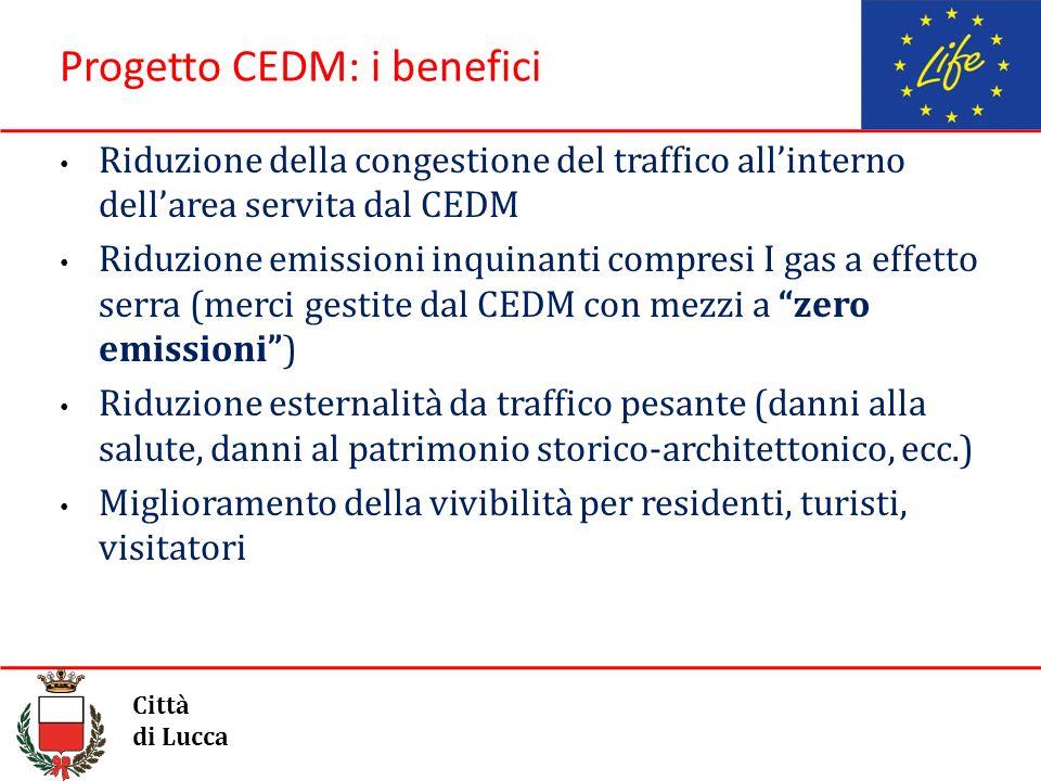 Progetto CEDM: i benefici