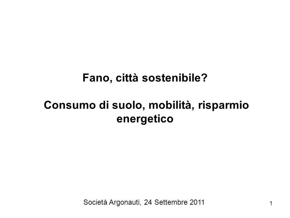 Fano, città sostenibile