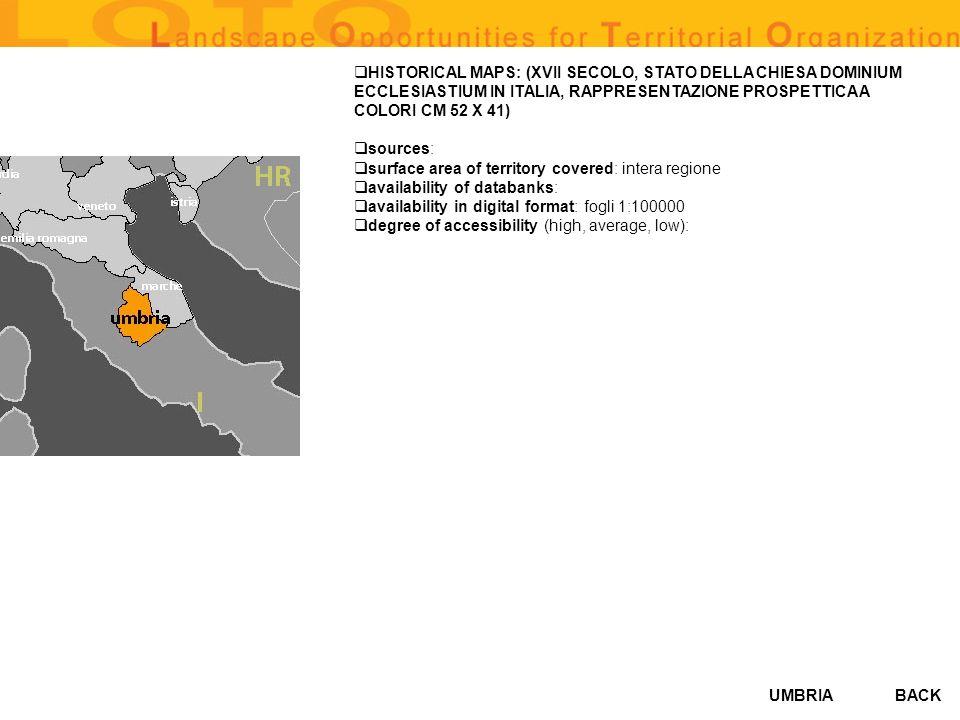 HISTORICAL MAPS: (XVII SECOLO, STATO DELLA CHIESA DOMINIUM ECCLESIASTIUM IN ITALIA, RAPPRESENTAZIONE PROSPETTICA A COLORI CM 52 X 41)