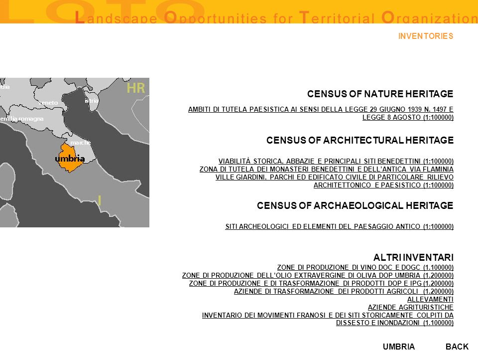 CENSUS OF ARCHITECTURAL HERITAGE