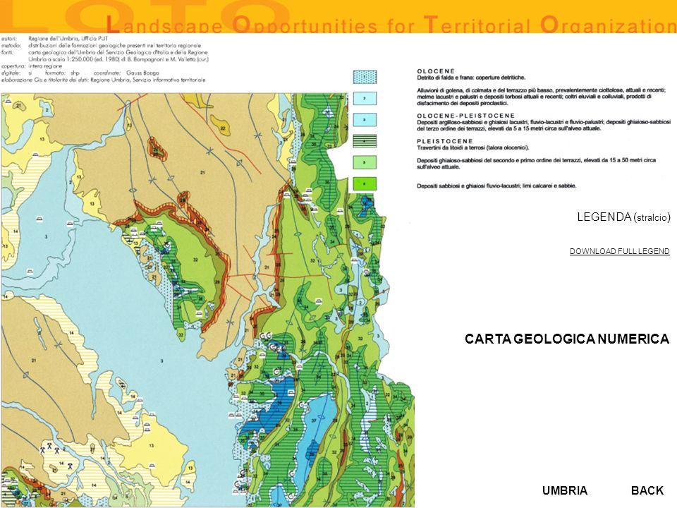 CARTA GEOLOGICA NUMERICA