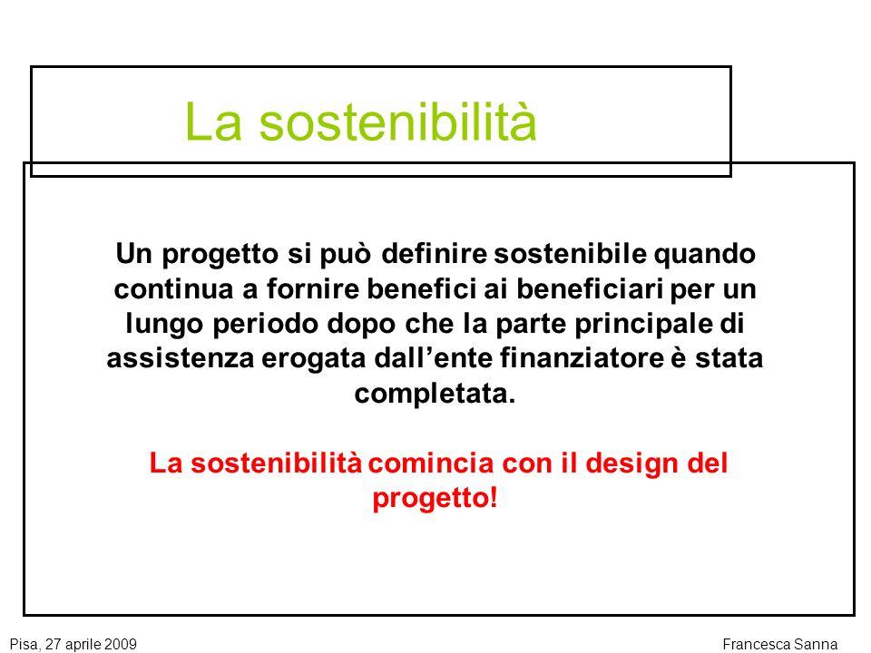 La sostenibilità comincia con il design del progetto!