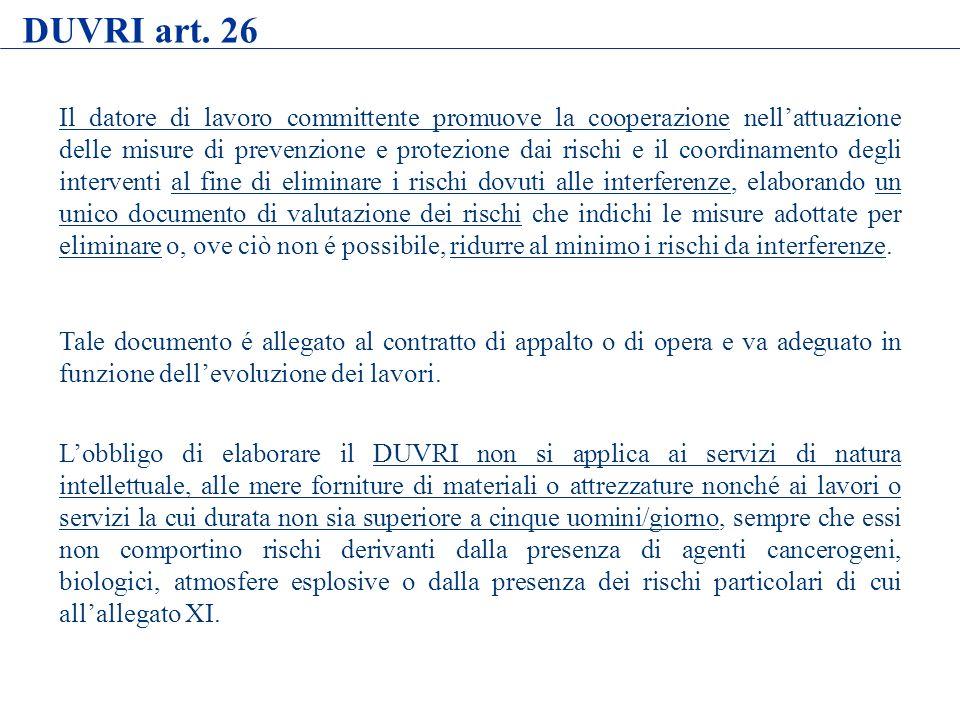 DUVRI art. 26
