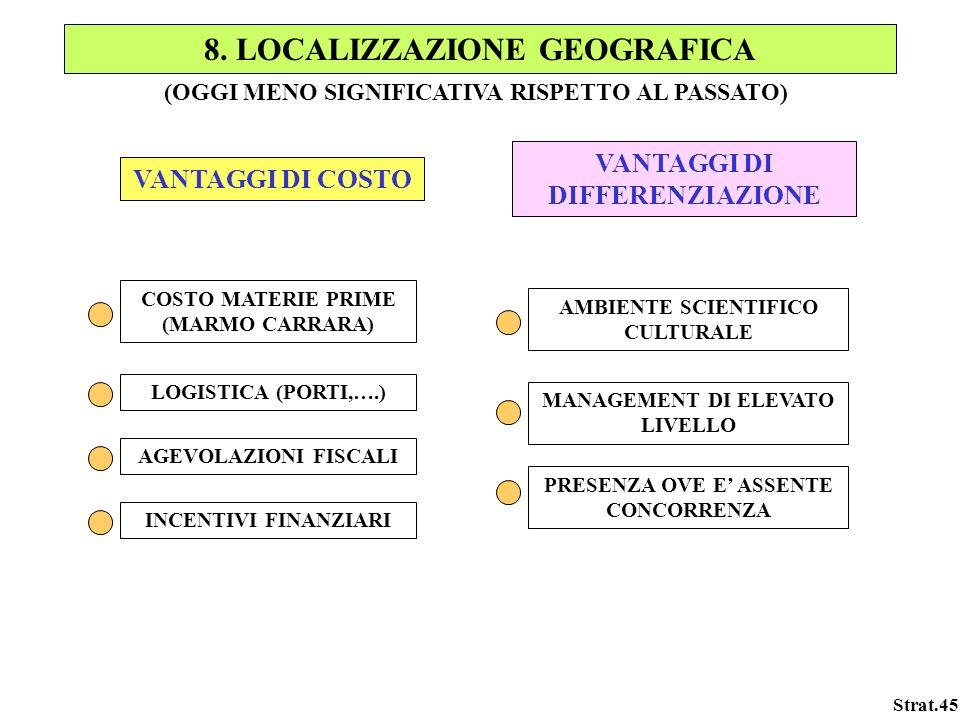 8. LOCALIZZAZIONE GEOGRAFICA