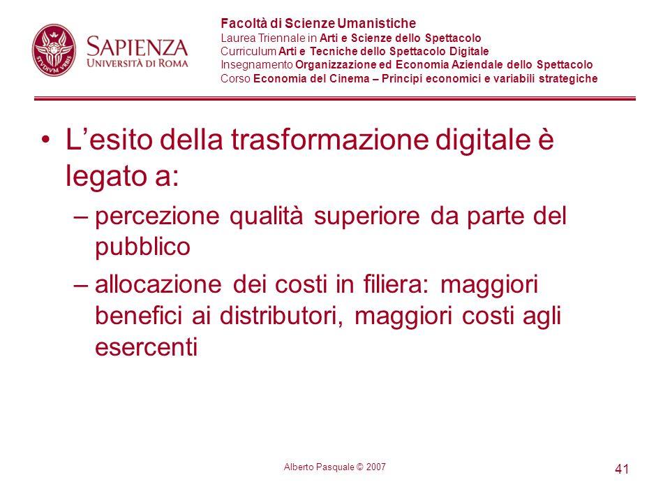 L'esito della trasformazione digitale è legato a: