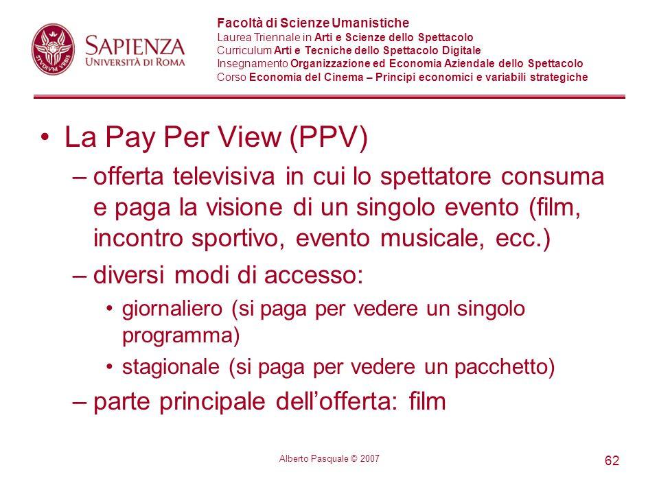 La Pay Per View (PPV)