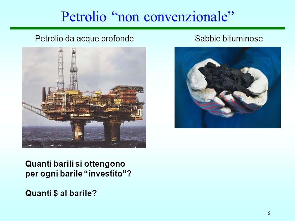 Petrolio non convenzionale