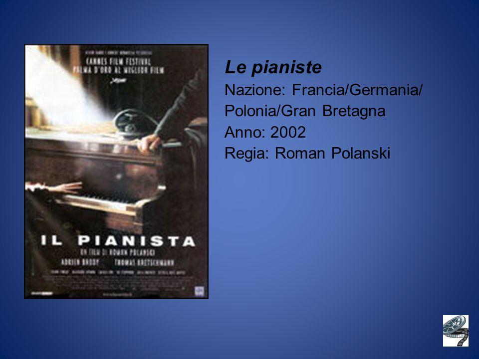Le pianiste Nazione: Francia/Germania/ Polonia/Gran Bretagna