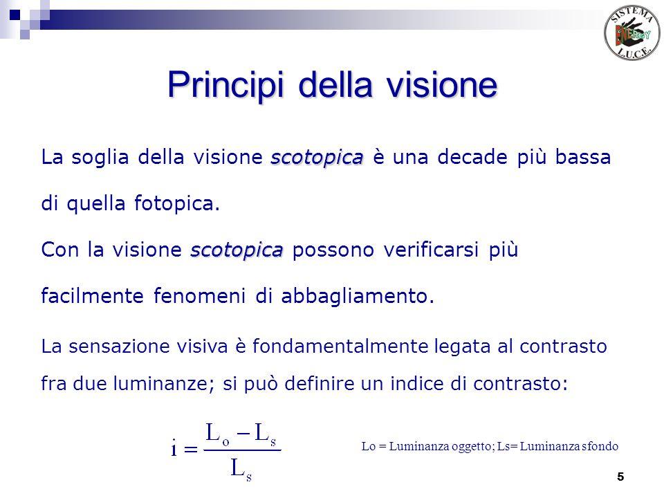 Principi della visione