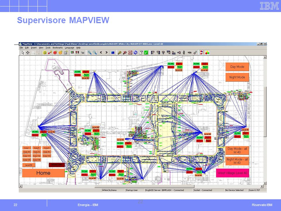 Supervisore MAPVIEW 22 Energia – IBM IBM Confidential 22