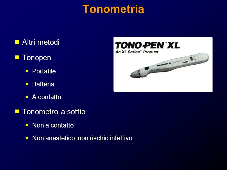 Tonometria Altri metodi Tonopen Tonometro a soffio Portatile Batteria
