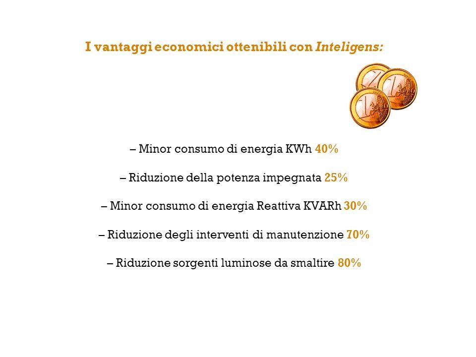 I vantaggi economici ottenibili con Inteligens: