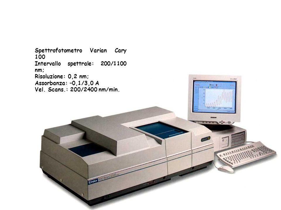 Spettrofotometro Varian Cary 100