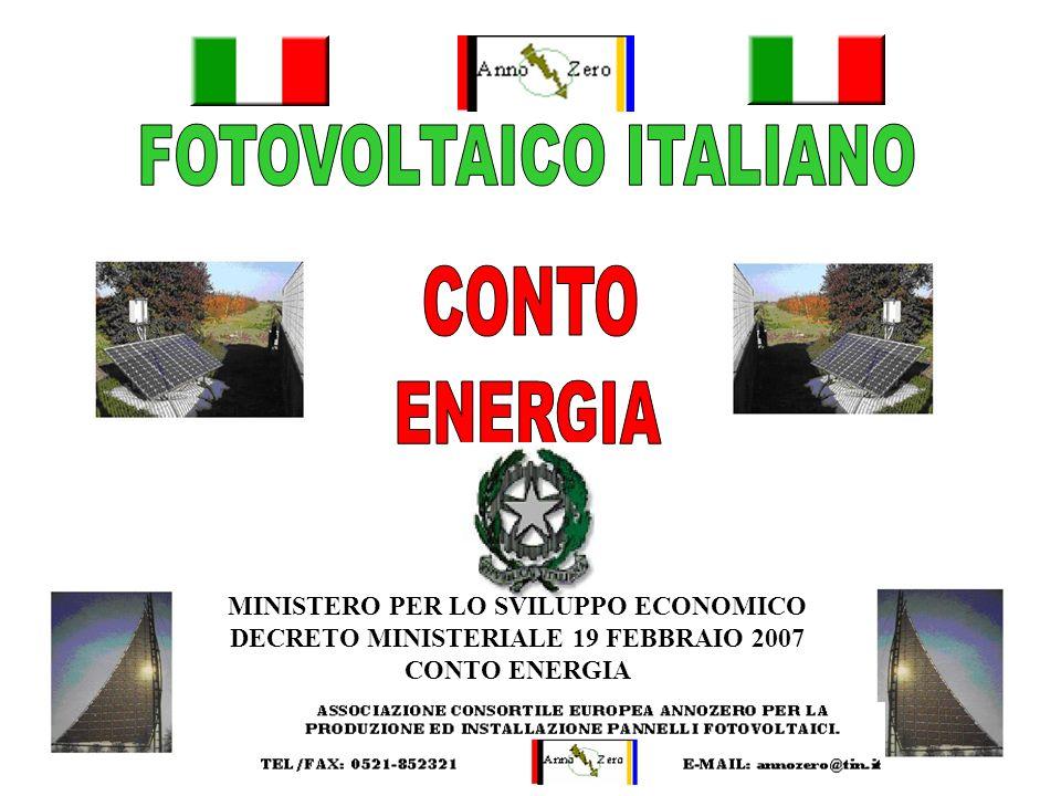 FOTOVOLTAICO ITALIANO