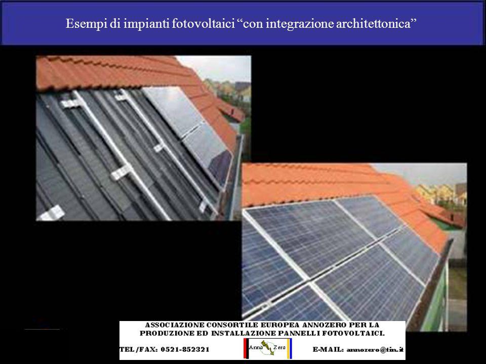 Esempi di impianti fotovoltaici con integrazione architettonica