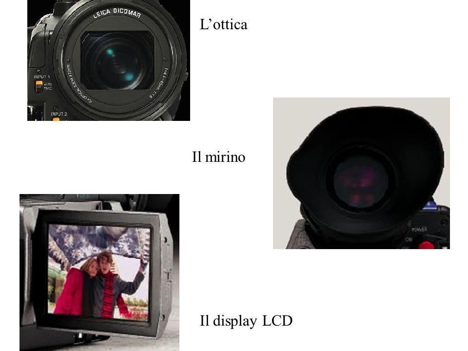 L'ottica Il mirino Il display LCD