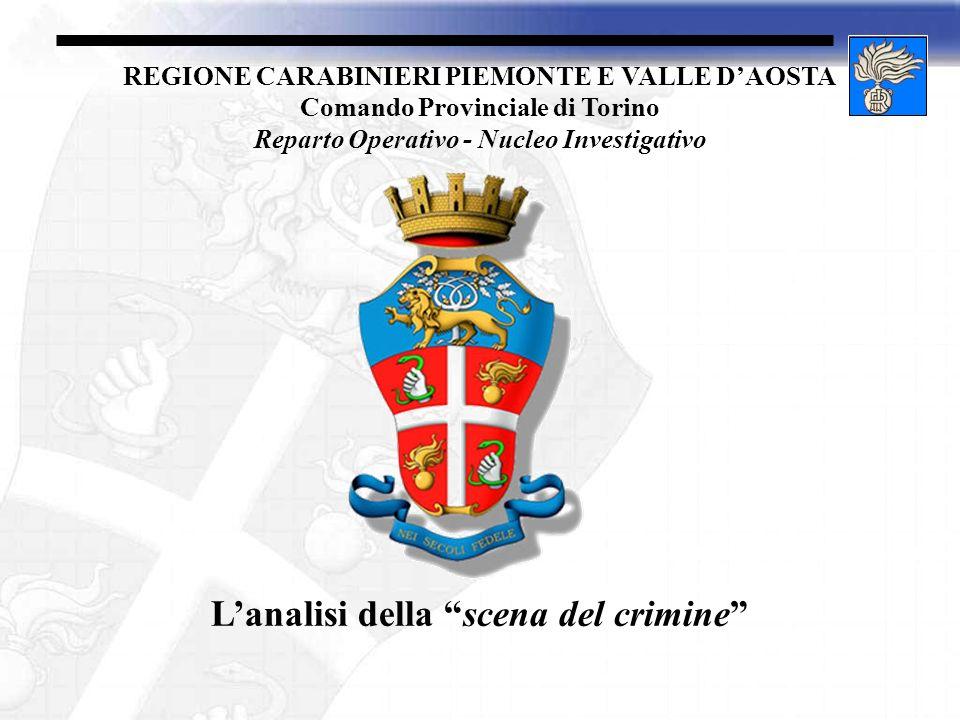L'analisi della scena del crimine