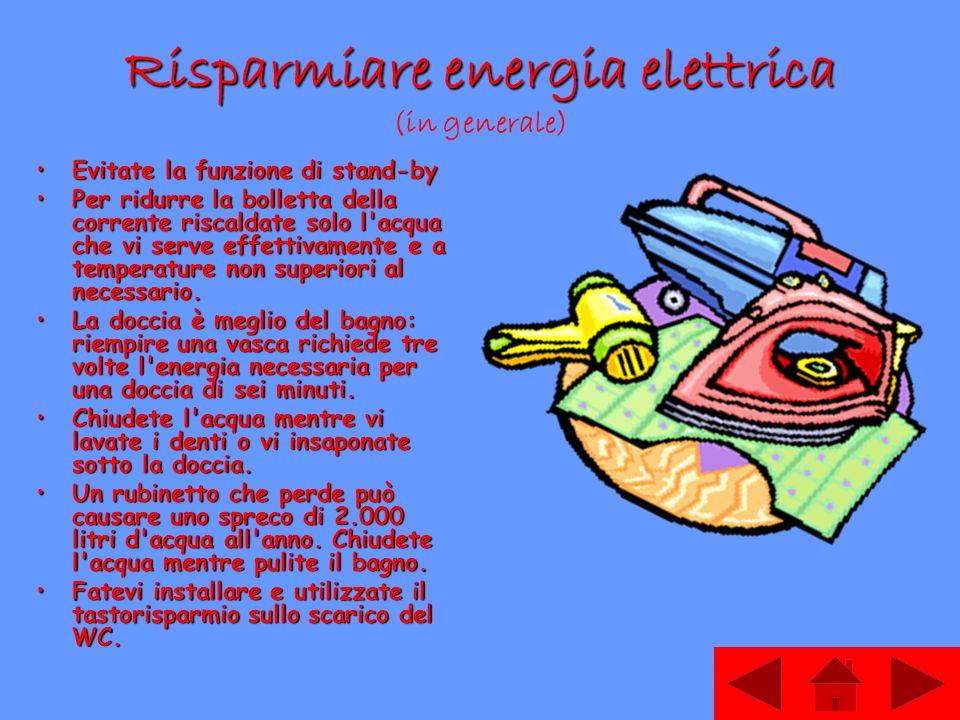 Come risparmiare l energia in casa ppt scaricare for Come risparmiare denaro per costruire una casa