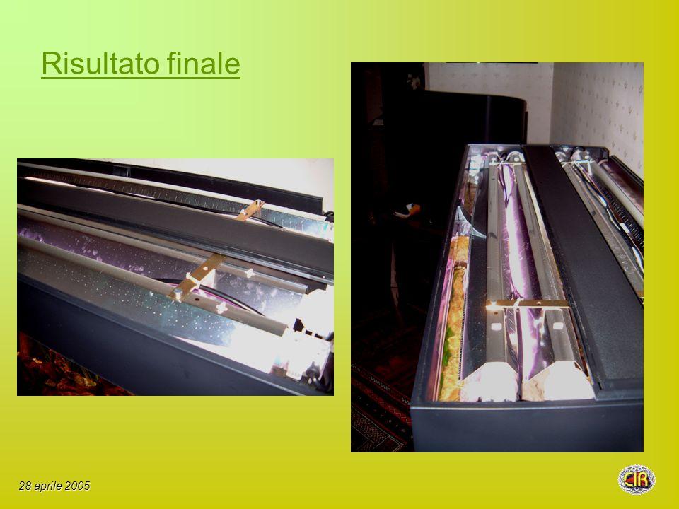 Risultato finale 28 aprile 2005