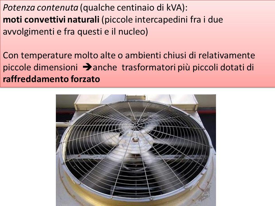 Potenza contenuta (qualche centinaio di kVA):