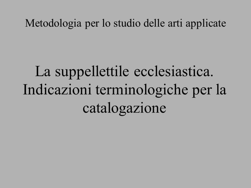 Metodologia per lo studio delle arti applicate