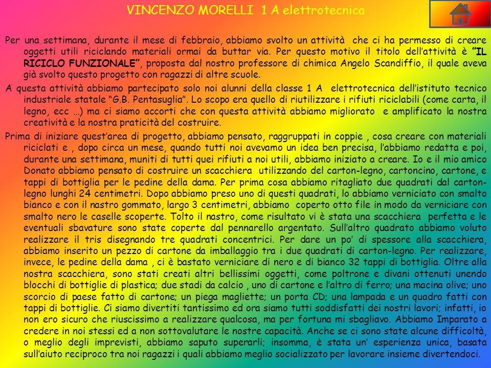 VINCENZO MORELLI 1 A elettrotecnica