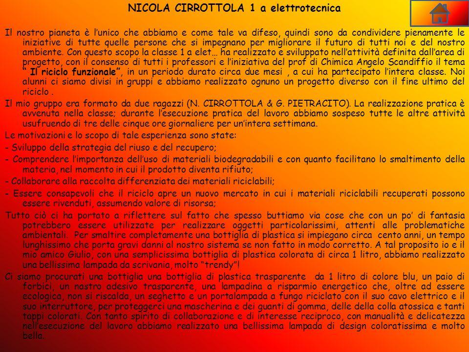 NICOLA CIRROTTOLA 1 a elettrotecnica