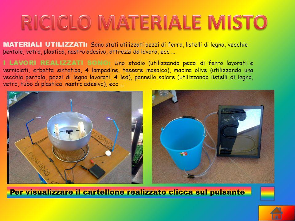 RICICLO MATERIALE MISTO