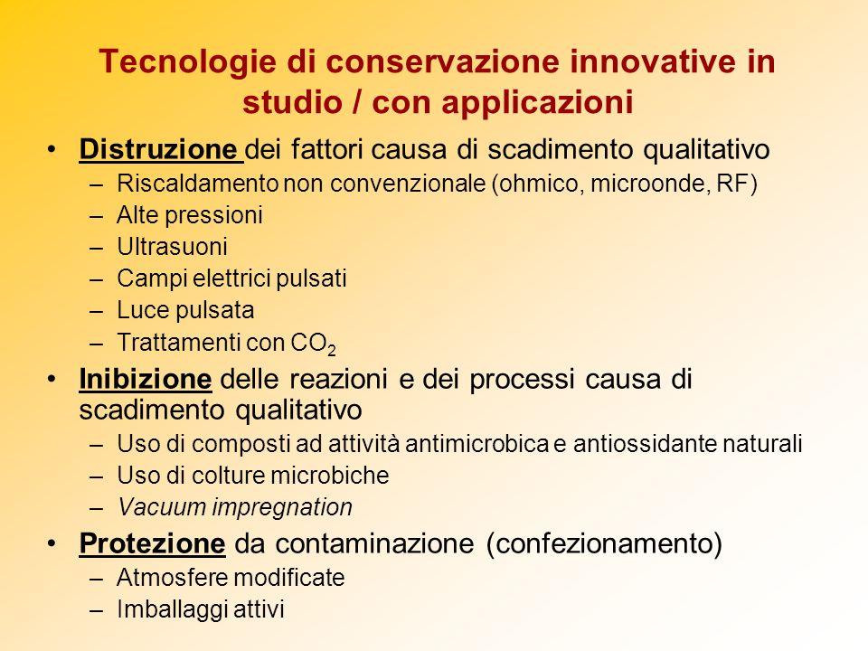 Tecnologie di conservazione innovative in studio / con applicazioni