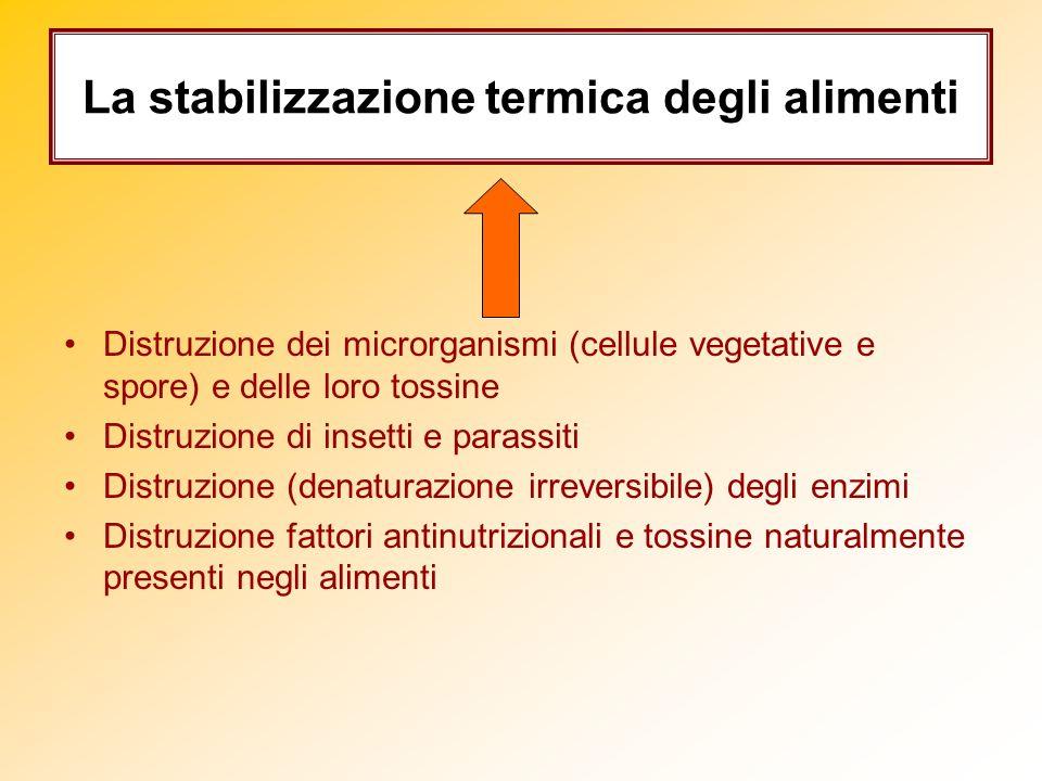 La stabilizzazione termica degli alimenti