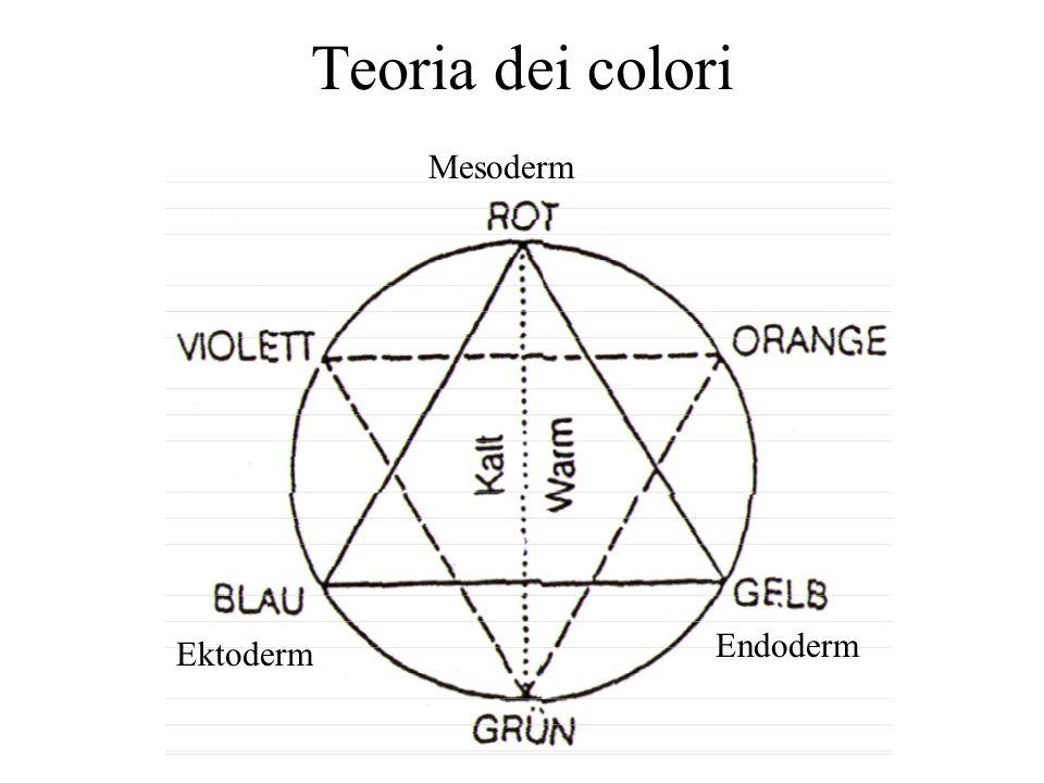 Teoria dei colori Mesoderm Endoderm Ektoderm