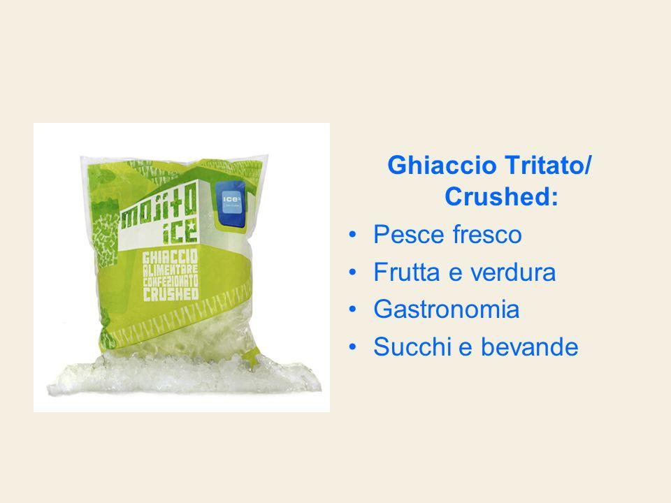Ghiaccio Tritato/ Crushed: