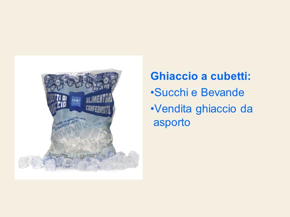 Ghiaccio a cubetti: Succhi e Bevande Vendita ghiaccio da asporto