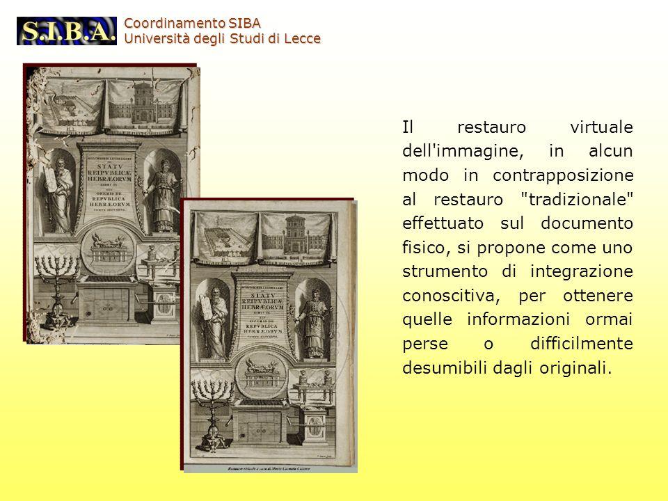 Coordinamento SIBA Università degli Studi di Lecce.