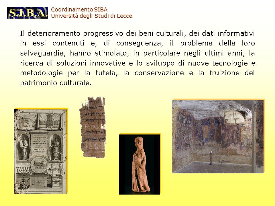 Corso libero Coordinamento SIBA. Università degli Studi di Lecce.