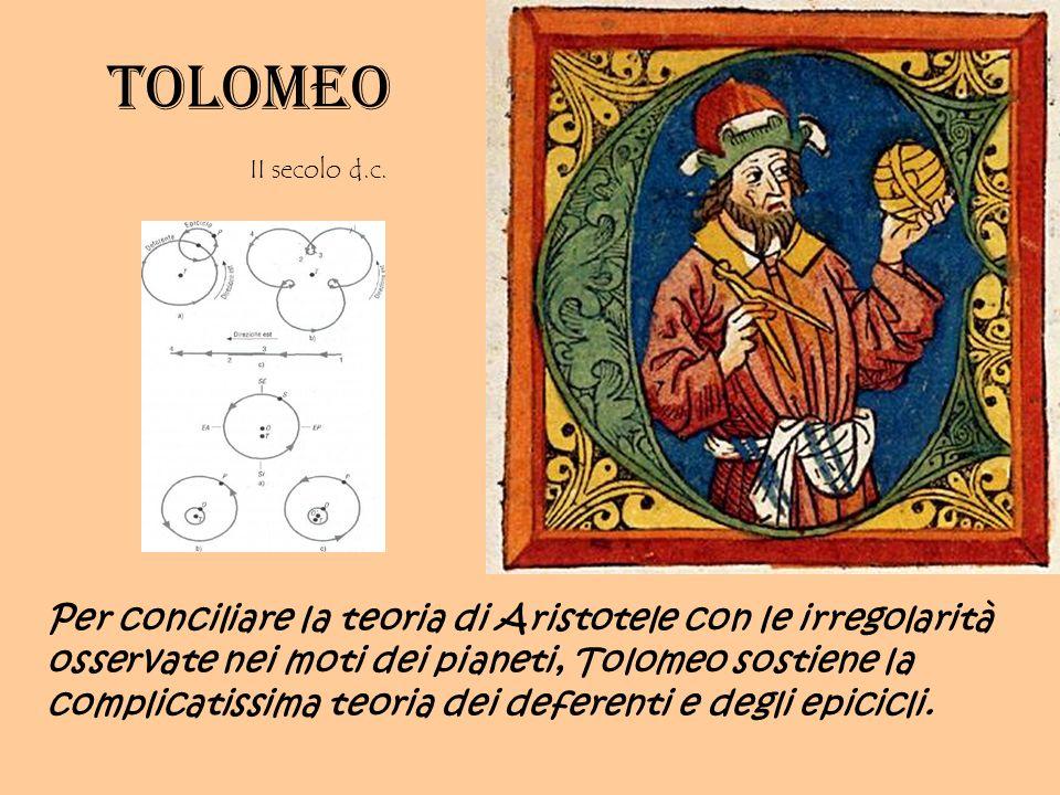 Tolomeo II secolo d.c.
