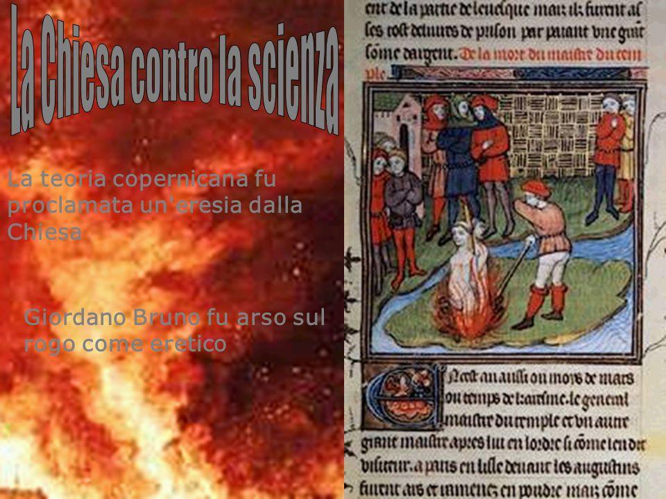 La Chiesa contro la scienza