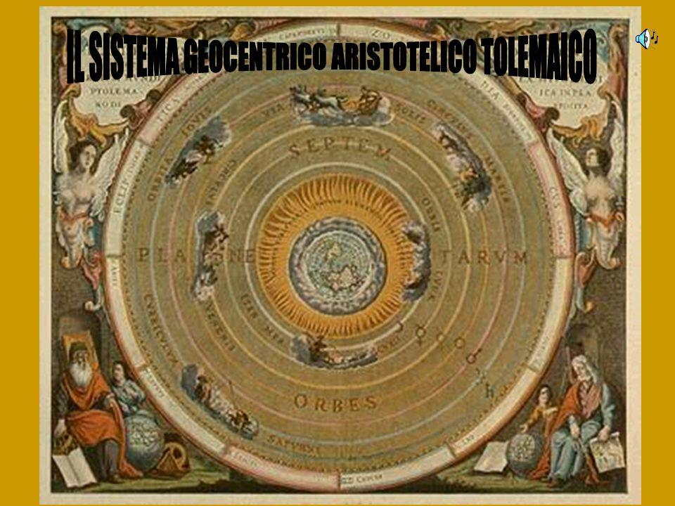 IL SISTEMA GEOCENTRICO ARISTOTELICO TOLEMAICO