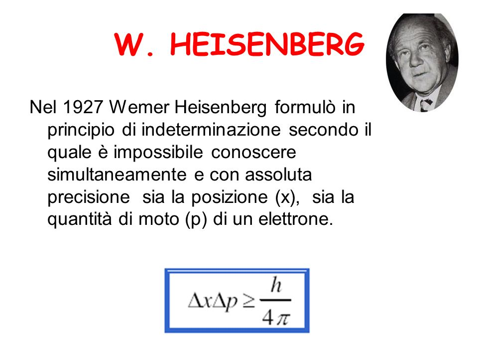 W. HEISENBERG