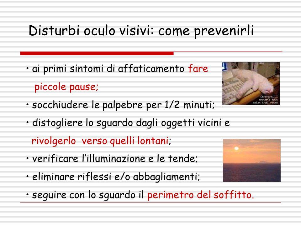 Disturbi oculo visivi: come prevenirli