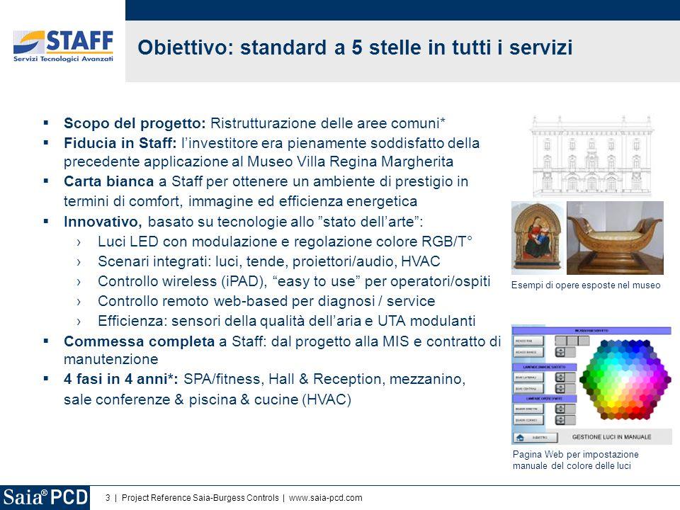 Obiettivo: standard a 5 stelle in tutti i servizi