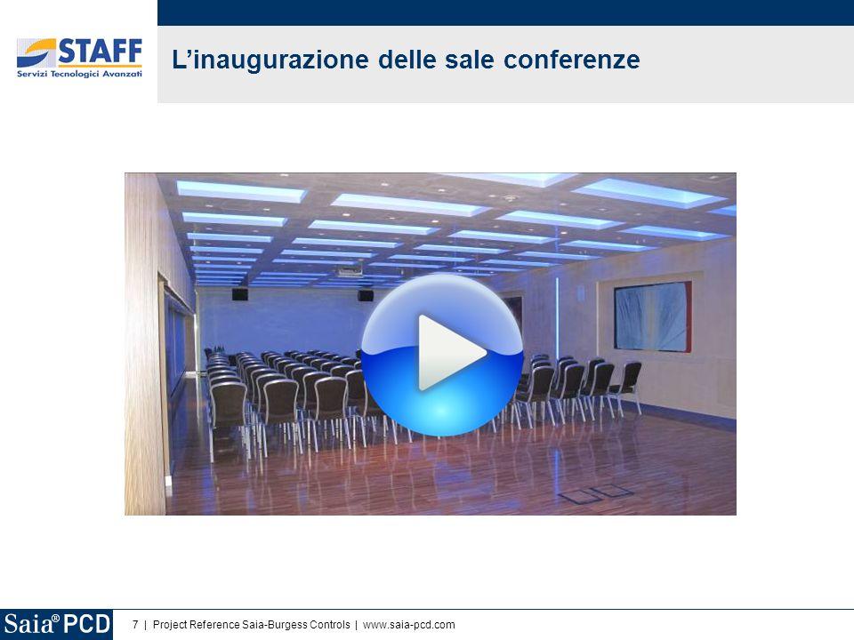 L'inaugurazione delle sale conferenze