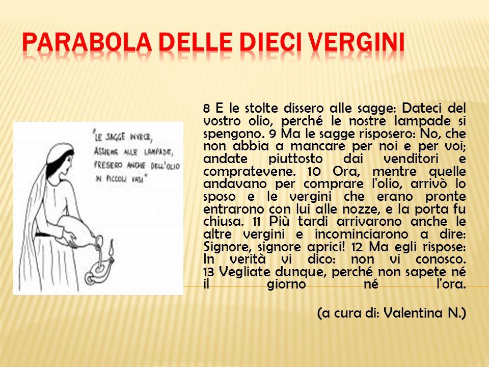 PARABOLA DELLE DIECI VERGINI