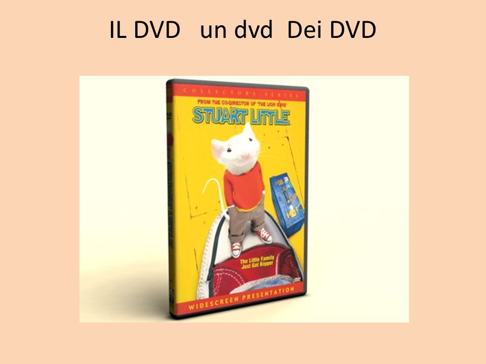 IL DVD un dvd Dei DVD