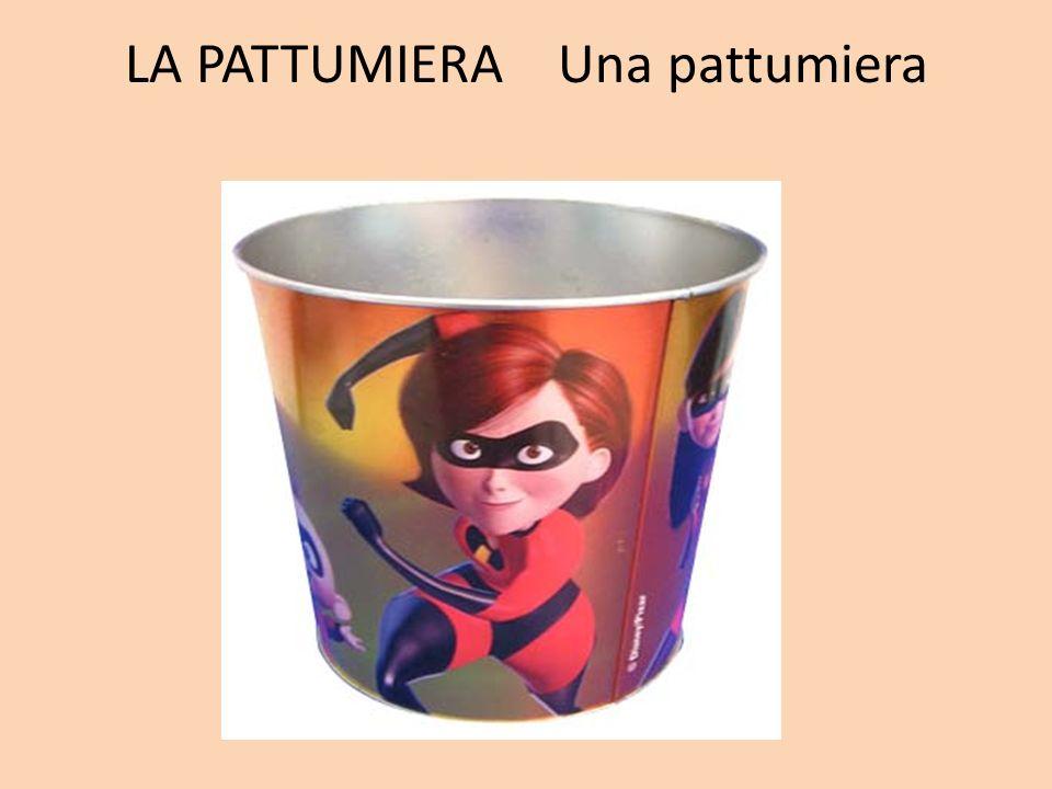 LA PATTUMIERA Una pattumiera