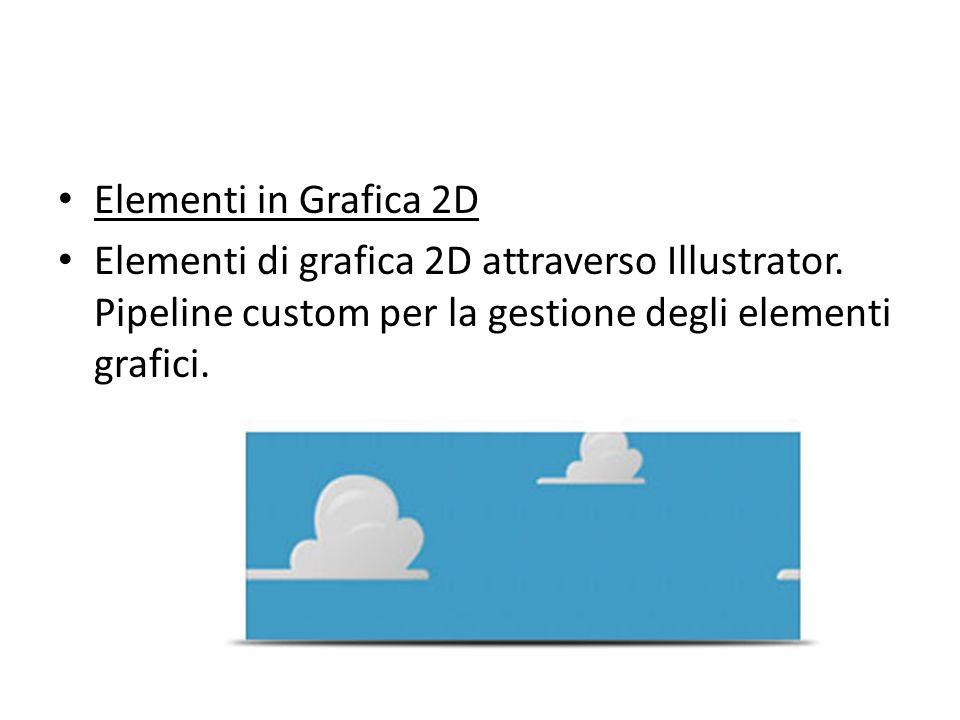 Elementi in Grafica 2D Elementi di grafica 2D attraverso Illustrator.
