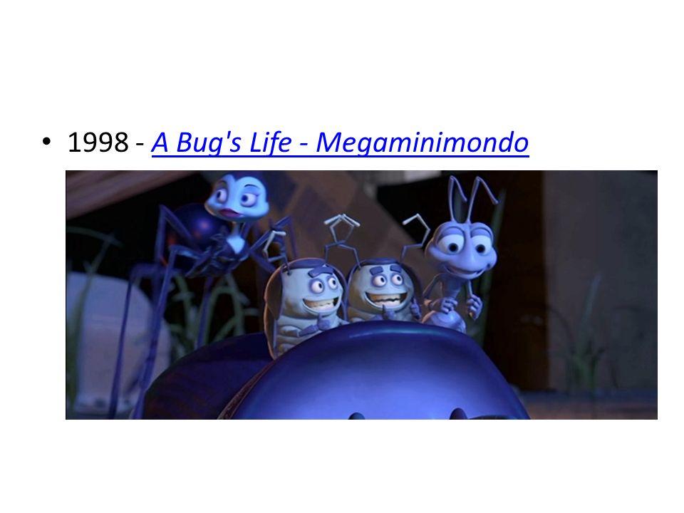 1998 - A Bug s Life - Megaminimondo