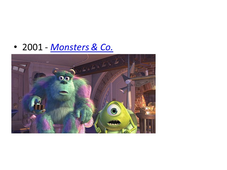 2001 - Monsters & Co.